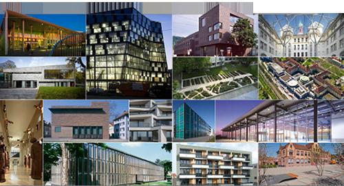 neuer stadtplan moderne architektur in freiburg